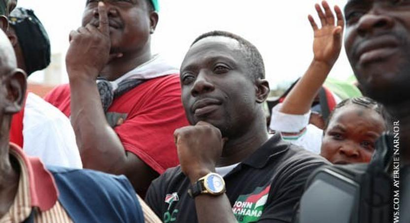 Mr Beautiful at NDC rally in 2016