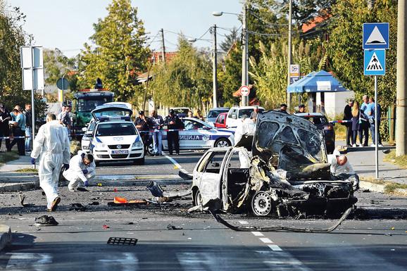 16. oktobar 2018. Voždovac: Bomba pod automobilom voditeljke Marijane Mićić