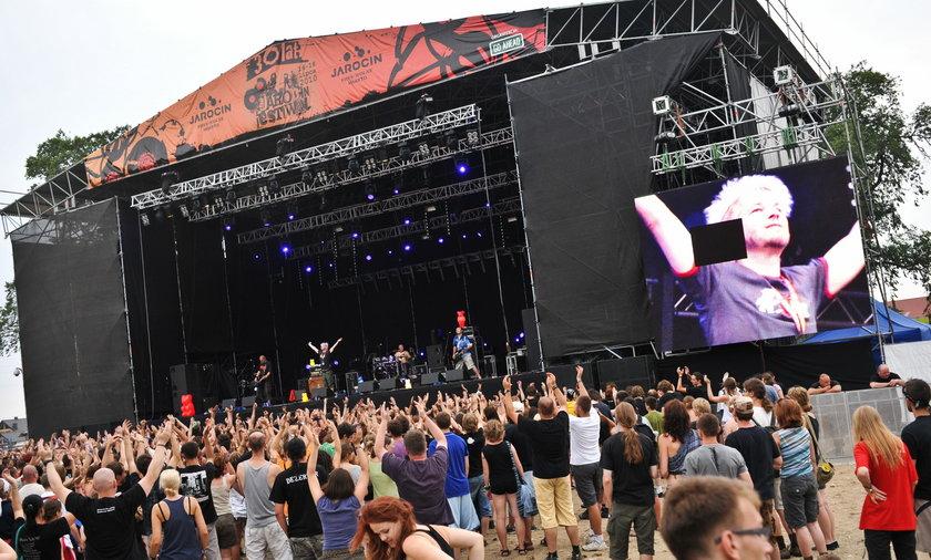 Pierwsza ofiara Jarocin Festiwal