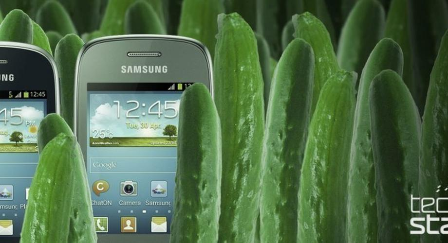 Zwei Gurken: Samsung Galaxy Pocket Neo und Galaxy Star