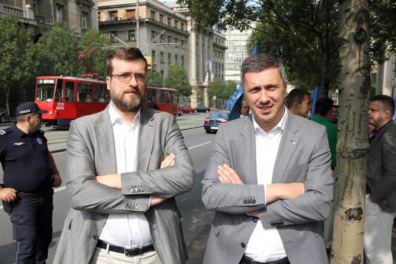 Srđan Nogo i Boško Obradović
