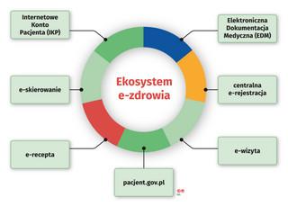 E-zdrowie służy pacjentom, lekarzom i menedżerom