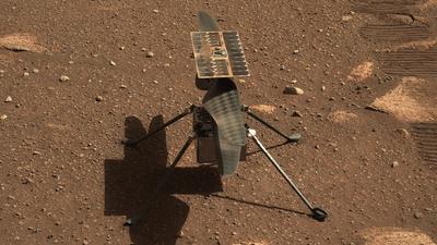 Ingenuity znowu poleciał na Marsie. NASA: to był najbardziej złożony lot
