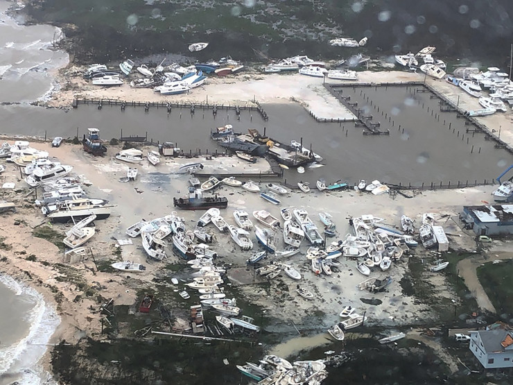 bahami uragan dorijan