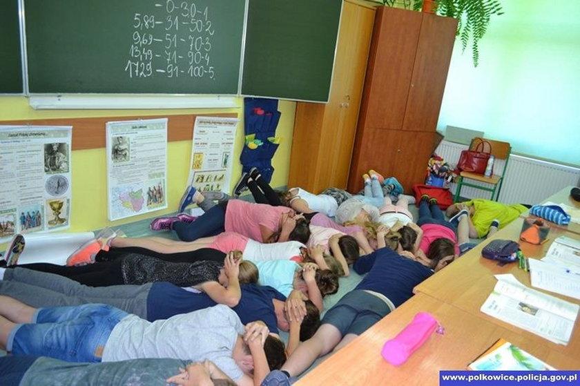 Atak terrorystyczny w szkole