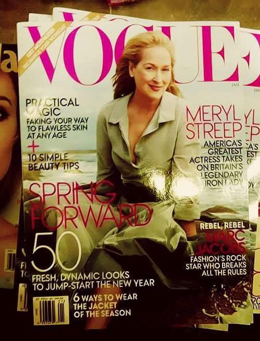 Meryl Streep Vogue styczeń 2012