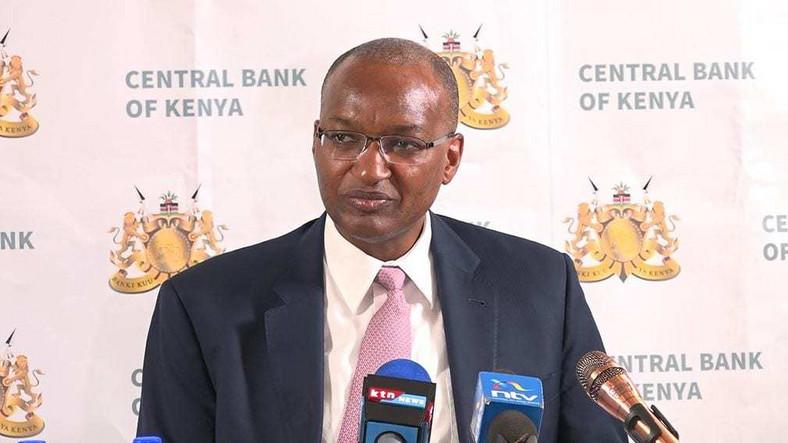 Central Bank of Kenya Governor Dr Patrick Njoroge