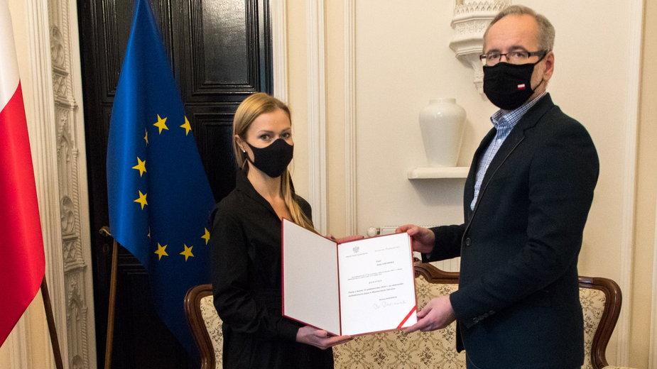 Koronawirus. Anna Goławska nowym wiceministrem zdrowia