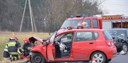 Wypadek na krajowej 36