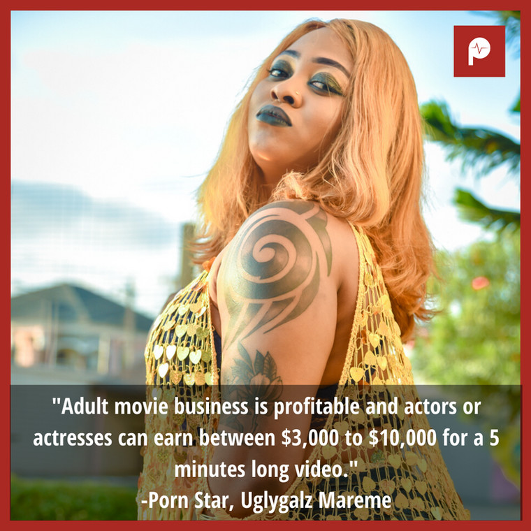 Uglygalz Mareme believes the Nigerian porn industry in its infant stage despite being plagued by hypocrisy. [Pulse]