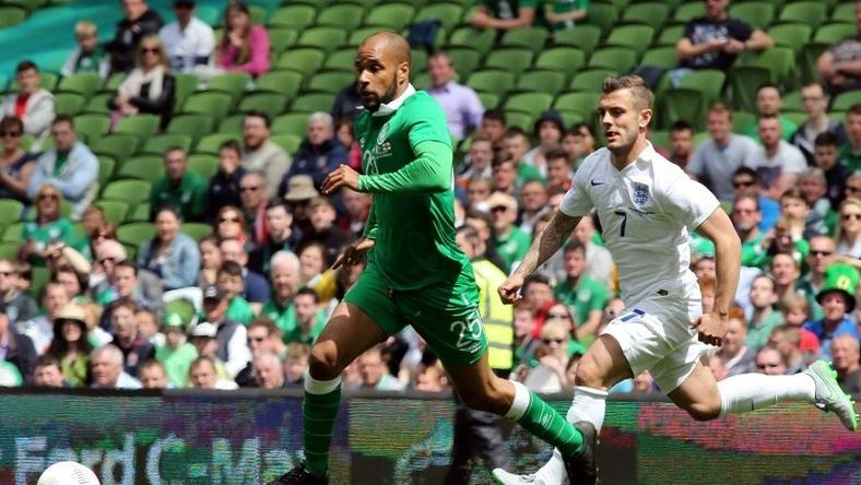 David McGoldrick (L, pictured June 2015) had a brilliant opportunity after just 14 minutes when the Blades were awarded a penalty