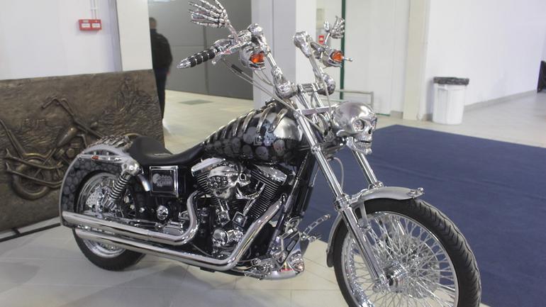 Wystawa motocykli w Nadarzynie
