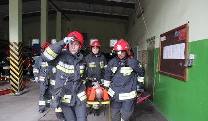 Wielkie ćwiczenia strażackie
