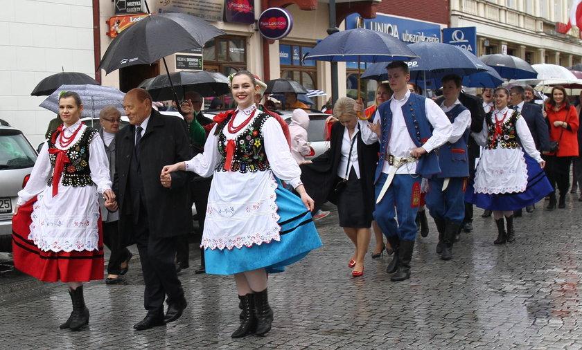 Święto Paniagi rozpoczął korowód, który przeszedł całą ulicą 3 Maja