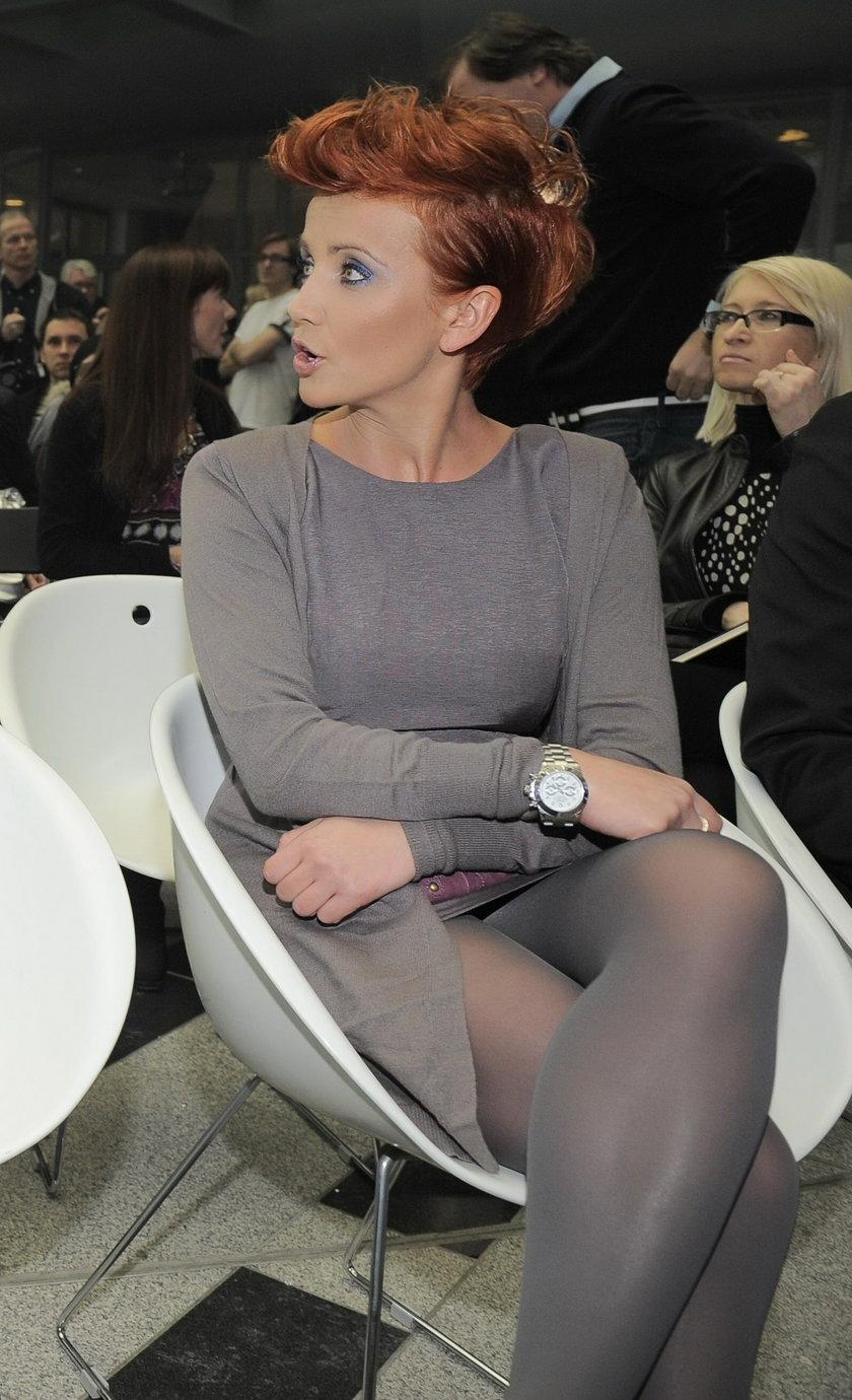 Katarzyna Zielińska z zegarkiem Rolex wartym 50 tysięcy