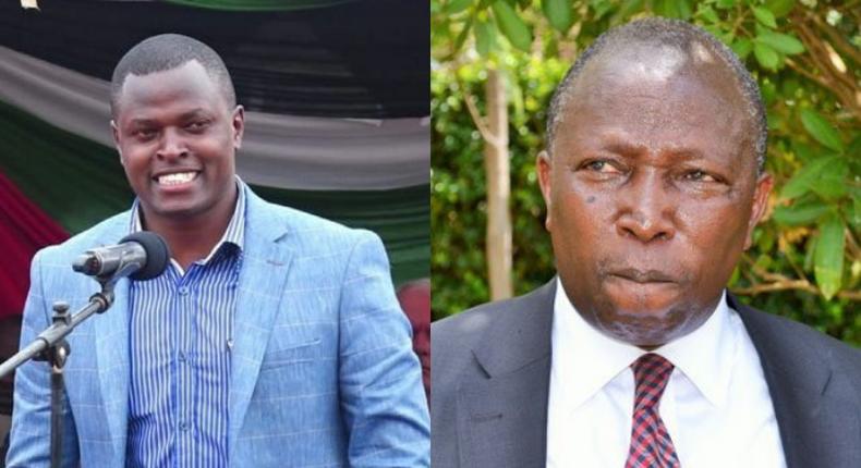 MPs Ndindi Nyoro and Maina Kamanda clashed at a Church fundraiser