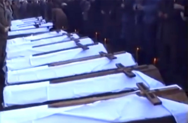 Nikoljdan ratni zlocin Josanica sahrana Foca