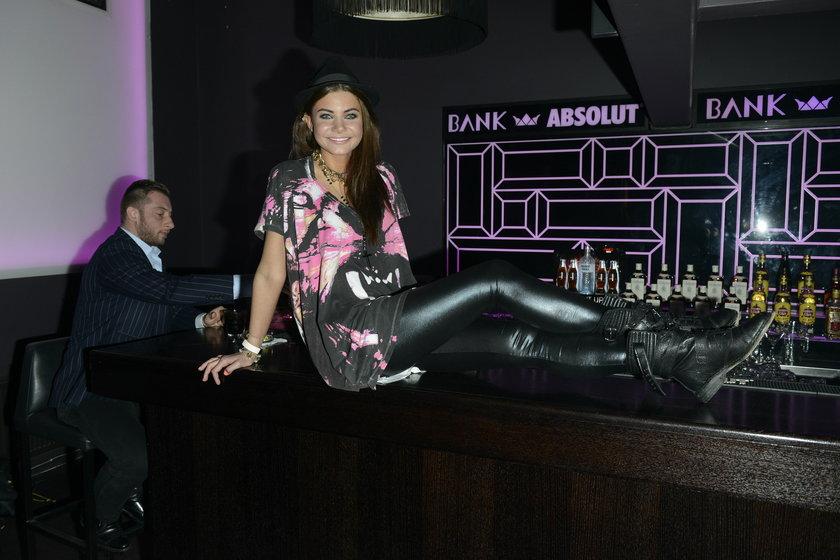 Dominika Zasiewska Wodzianka na barze