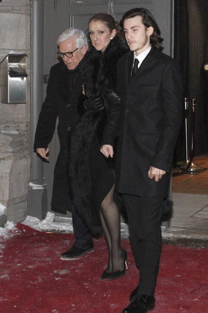 Celine Dion i jej najstarszy syn Rene-Charles