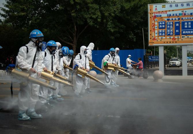 Nova zatišta koronavirusa u Pekingu