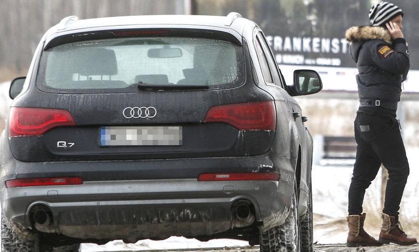 Majdan dostał auto od Rozenek