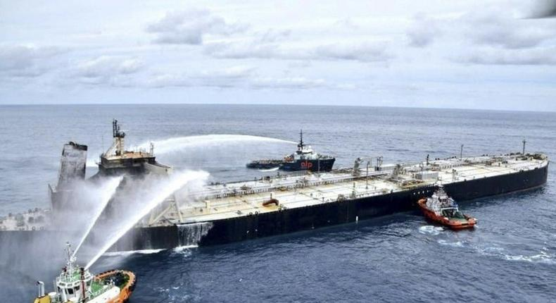 A crude oil vessel (Business Insider)