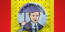 Prezerwatywa z wizerunkiem Putina. To mu się nie spodoba!
