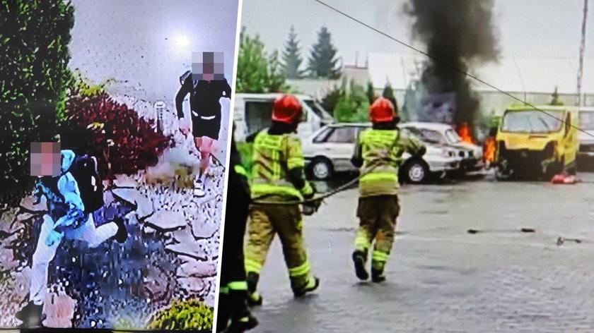 Dęblin. Trzech 11-latków zniszczyło 7 samochodów