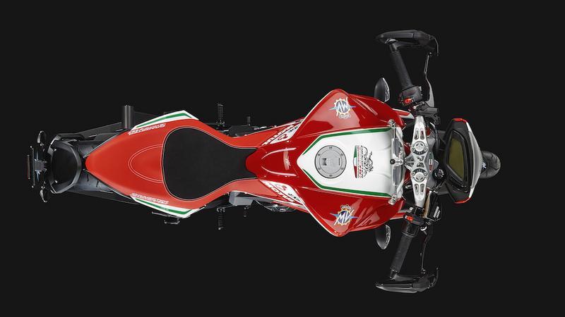 MV Agusta Dragster 800 RC na rok modelowy 2017