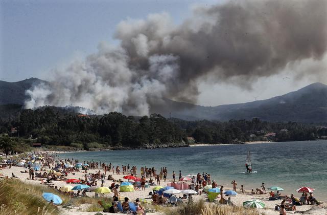 Šumski požar u Španiji kod Porto de Sona u julu