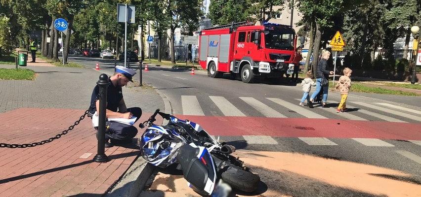 Śmiertelny rajd motocyklisty w Tomaszowie Mazowieckim. Nastolatek zginął. Policja odkrywa coraz to nowe fakty