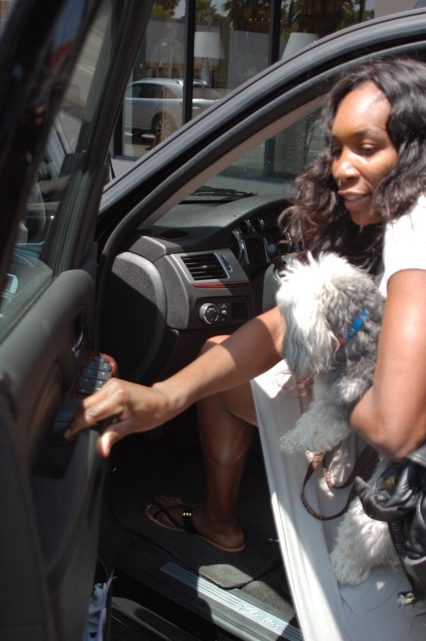 Serena Williams zatruła się psim jedzeniem podczas WTA Italian Open
