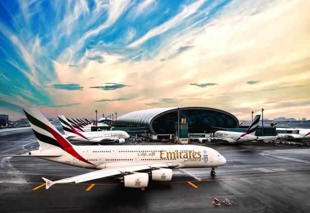 Airbus A380 w barwach Emirates