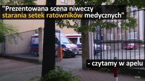 Ratownicy medyczni kontra Jacek Kurski