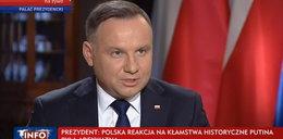 Andrzej Duda wystąpił w TVP. Co powiedział o sytuacji w Iranie?