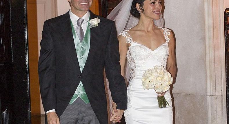 Eva Carneiro and husband