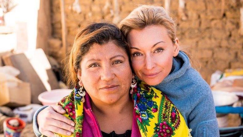Martyna Wojciechowska i Carmen Rojas