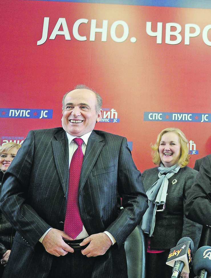 Milan Krkobabić i Mira Petrović