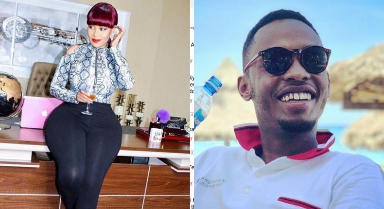 Vera Sidika comes clean on dating Kabogo's son