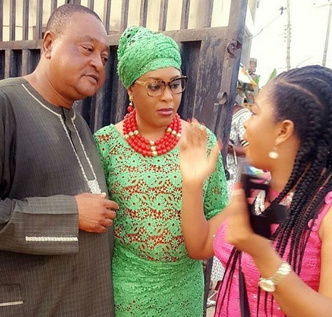 Jide Kosoko and his daughters, Sola and Bidemi [allnewsng]
