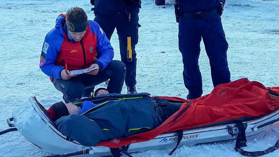 Ratownicy GOPR pomogli kompletnie pijanym turystom