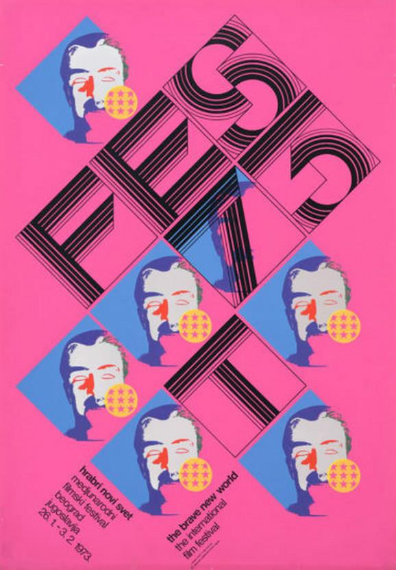 Plakat za FEST 1973.