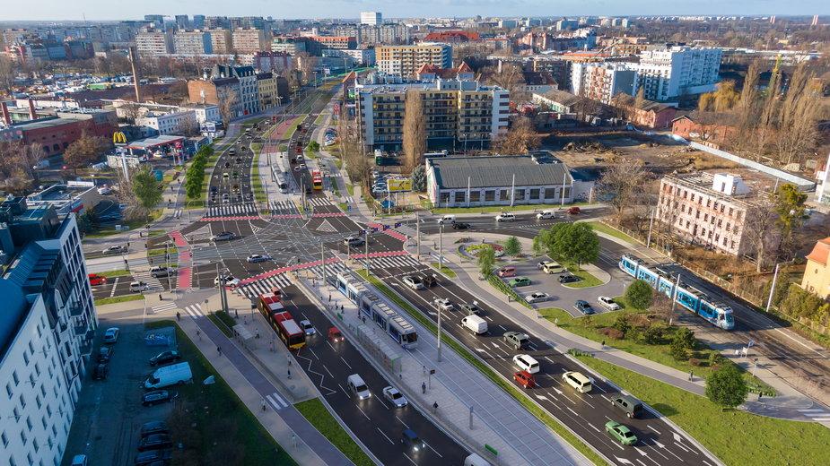 Budowa trasy tramwajowej od ul. Milenijnej do ul. Jagiełły