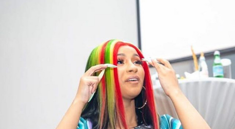 Meet the Ghanaian designer who styled Cardi B in a stunning jacket for the Meet & Greet session