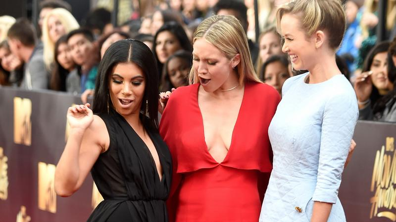 Chrissie Fit Brittany Snow Kelley Jakle - Fotó: Europress GettyImages