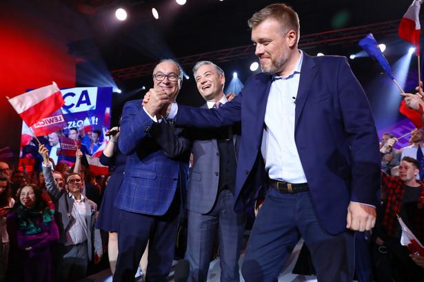 Robert Biedroń, Włodzimierz Czarzasty, Adrian Zandberg