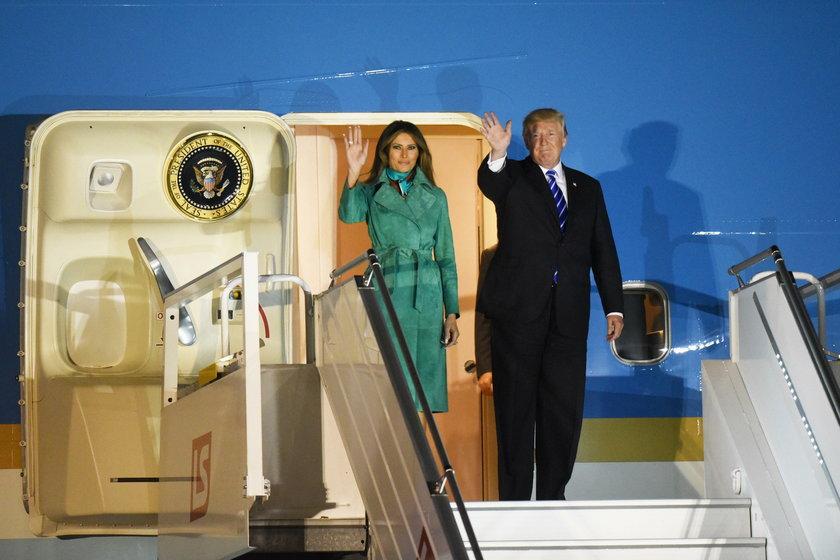 Donald Trump z wizytą w Polsce