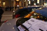 taksisti protest foto vesna lalic