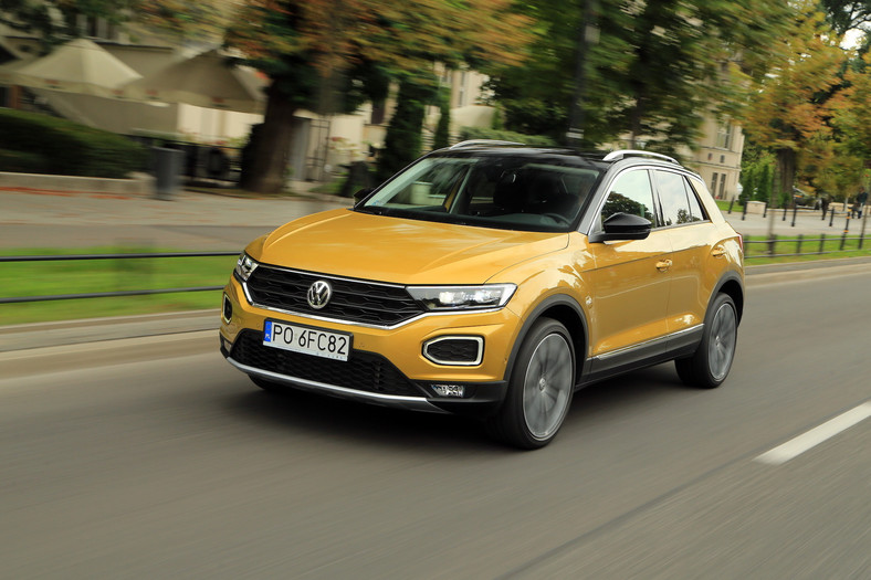 Volkswagen T-Roc 1.5 TSI Advance – alternatywa dla Golfa