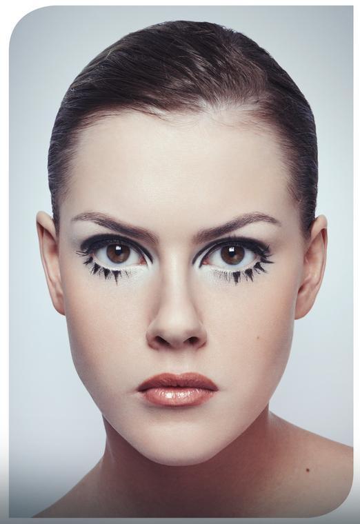 Skończony makijaż